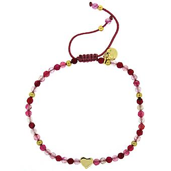 Lola rosa Phoenix pulsera rosa Multi ágata