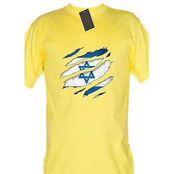 Renowned 0057 israel flag ripped
