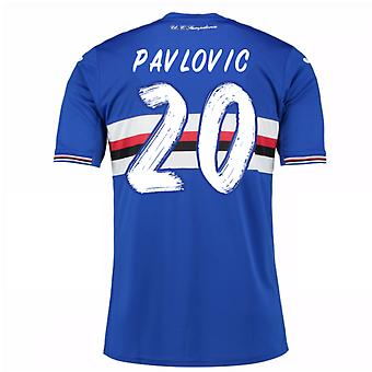 2016 / 17 Sampdoria Home Shirt (Pavlovic 20) - Kinder