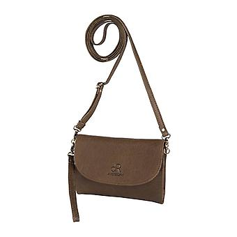 Dr Amsterdam shoulder bag/Clutch Icon Taupe