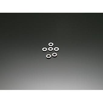 Empuñadura principal cojinete (2pcs) (empuje #6 × 12 × 4 m m): E5