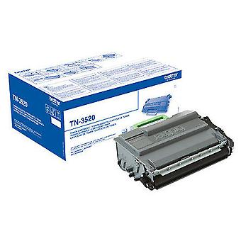 Brother 20000 pages Cartridge Tn-3520 Black