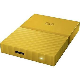 2.5 external hard drive 1 TB Western Digital My Passport Yellow USB 3.0
