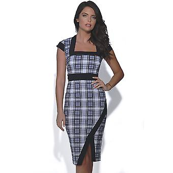 Vesper Lydia Plaid Dress