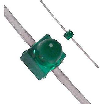 LED wired Green Circular 1.9 mm 0.6 mcd