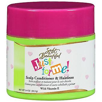Soft & Beautifull Just For Me Scalp Conditioner & Haird. 4oz