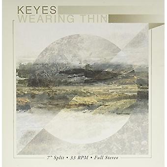 Keyes / iført tynde - Keyes / iført tynde-Split EP (hvid V [Vinyl] USA import