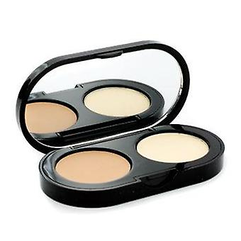 Bobbi Brown New Creamy Concealer Kit - Natural Creamy Concealer + Pale Yellow Sheer Finish Pressed Powder - 3.1g/0.11oz