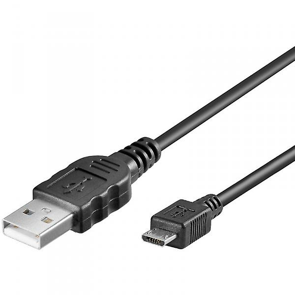 Original Goobay micro USB data cable black