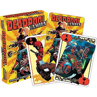 Marvel Deadpool familie set speelkaarten (nm 52463)