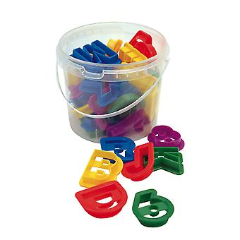 Dexam Letters and Numbers 36 Piece Cookie Cutter Set