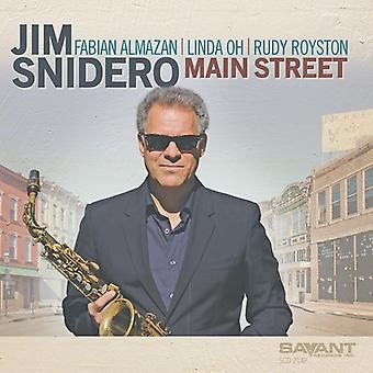 Jim Snidero - Main Street [CD] USA import