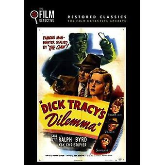 Dick Tracy Dilemma [DVD] USA importerer