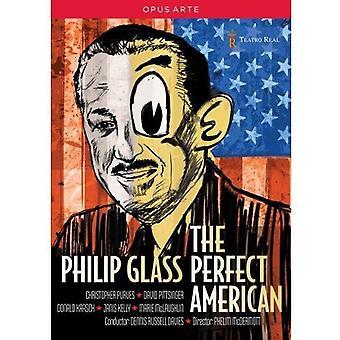Glas - Philip Glass: Perfekt amerikanska [Video] [DVD] USA import