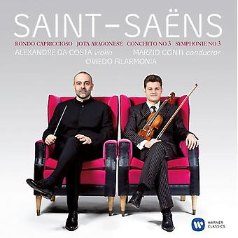 Saint-Jean-Saens/Alexandre Da Costa - Vln Con 3 & Sym 3 [CD] USA import