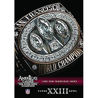 NFL Amerika spil: 1988 49Ers (Super Bowl Xxiii) [DVD] USA importerer