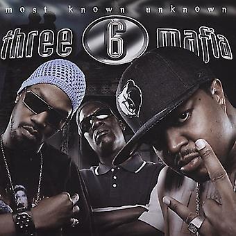 Drei 6 Mafia - die meisten bekannt unbekannt [CD] USA Import