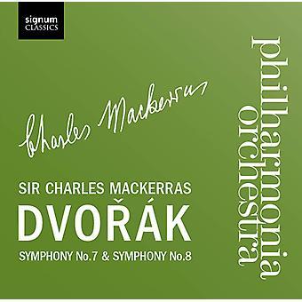 A. Dvorak - Dvor K: Symphonies Nos. 7 & 8 [CD] USA import