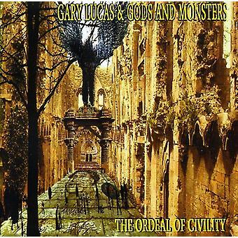 Gary Lucas & Gud & monstre - prøvelse af høflighed [CD] USA import