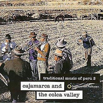 Traditional Music of Peru - Traditional Music of Peru: Vol. 3-Cajamarca & the Colca V [CD] USA import