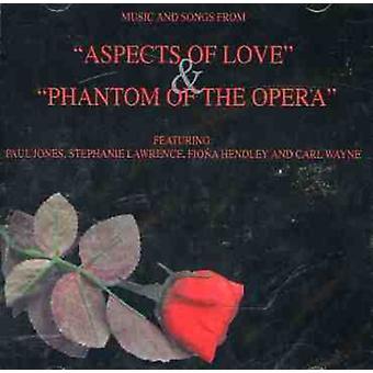 Aspekter af kærlighed/Phantom af Opera - aspekter af kærlighed & Phantom af Opera [CD] USA importen