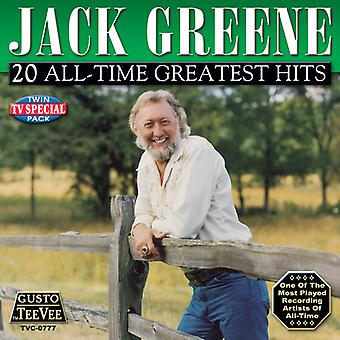 Jack Greene - 20 All-Time Greatest Hits CD] USA import