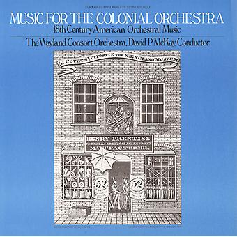 Wayland Consort Orchestra - Music for the Colonial Orchestra: 18th Century American Orchestral Music [CD] USA import