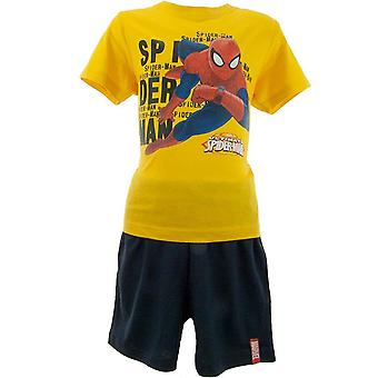 Мальчики Marvel Spiderman Shortie пижамы ME2106