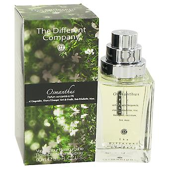 The Different Company Women Osmanthus Eau De Toilette Spray Refilbable By The Different Company
