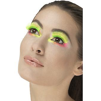 80 lashes neon green