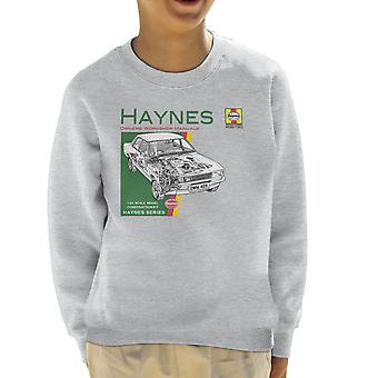 Haynes ejere Workshop Manual 0409 Ford Cortina 1300 børne Sweatshirt