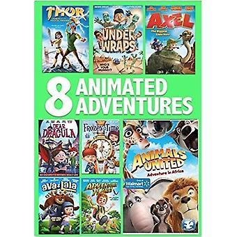 8 film animerede eventyr Pack [DVD] USA import