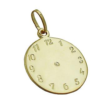 Baptism watch gold pendants 375 pendant, watch trailer of birth 9 KT GOLD