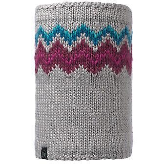 Buff Danke Knitted Neckwarmer - Light Grey