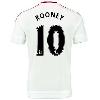 2015-2016 Man Utd Away Shirt (Rooney 10)