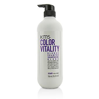 KMS California farve vitalitet Blonde Shampoo (Anti-gulfarvning og restaureret Radiance) 750ml/25,3 oz