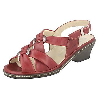 Ladies Suave Leather Sandals Edith