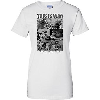 This Is War - Memories Of Iraq - Photo Collage - Ladies T Shirt