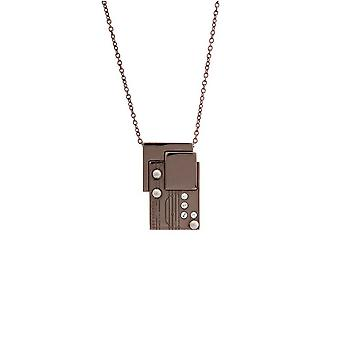 Misaki Ladies Necklace Stainless Steel bronze BIONIC QCRPBIONIC