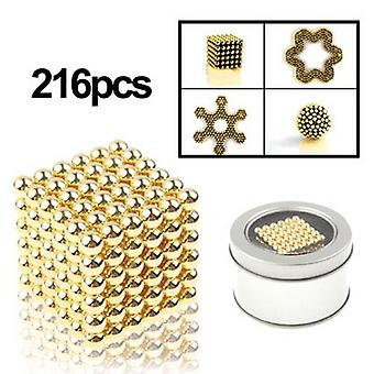 Neodymium magnets GOLD 216 piece super strong neodymium magnet super magnets