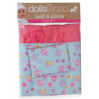 Dolls World Deluxe Quilt and Pillow