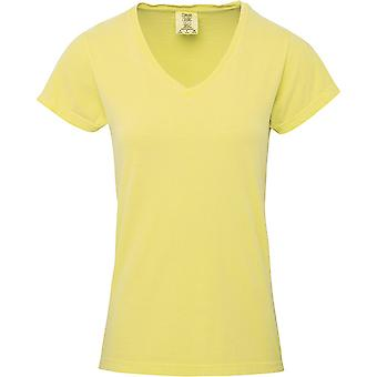 Comfort Colors Womens/Ladies V-Neck Tee