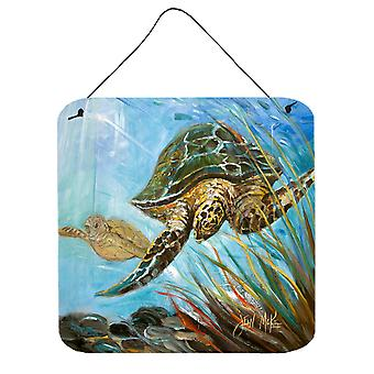 Loggerhead Sea Turtle Wall or Door Hanging Prints