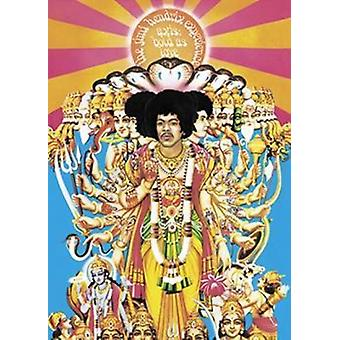 Jimi Hendrix - Achse Fett als Liebe Poster Plakat-Druck