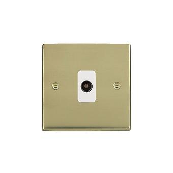 ハミルトン Litestat ・ チェリトン ビクトリア磨かれた真鍮 [1 g/1out WH 1 で非絶縁型テレビ