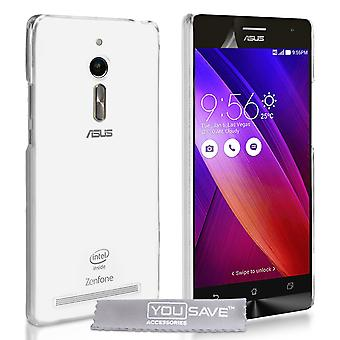 Yousave Accessories ASUS Zenfone 2 0.6mm Clear Gel Case