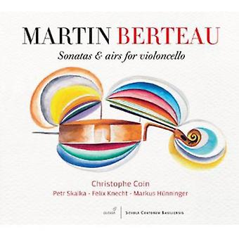 Berteau/Coin - Sonatas & Airs for Violoncello [CD] USA import