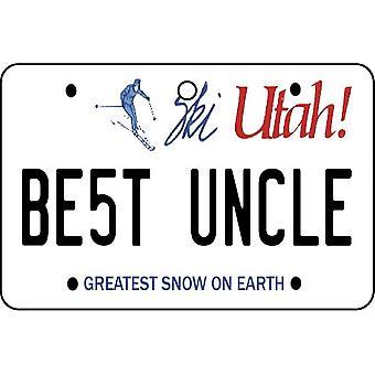 Utah - beste oom License Plate auto luchtverfrisser