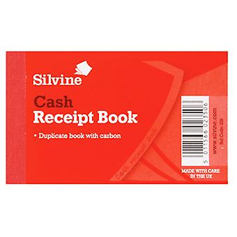 Silvine Duplicate Cash Receipt Book 60 Sheets (Pack Of 36)
