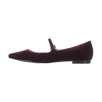 Marc Fisher Womens Stormy2 Suede Pointed Toe Slide Flats